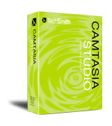 Camtasia Studio box.