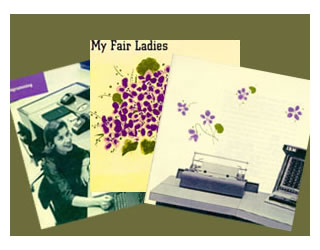 "IBM's ""My Fair Ladies"" 1957 recruitment brochure for women."