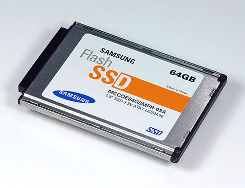 Samsing's new 64gig solid state drive