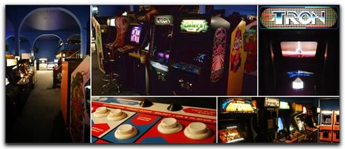 Video and pinball games at Ground Kontrol