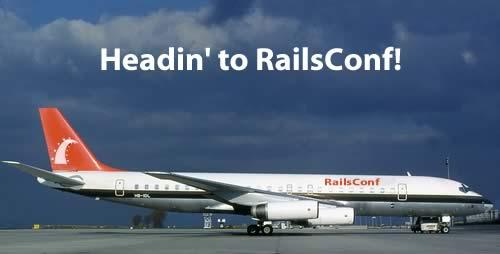 Headin' to RailsConf!