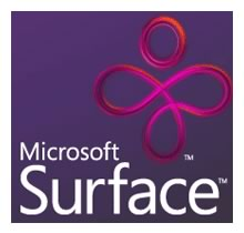 """Microsoft Surface"" logo."