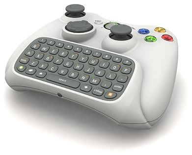 """""""Chatpad"""" controller for the XBox 360"""