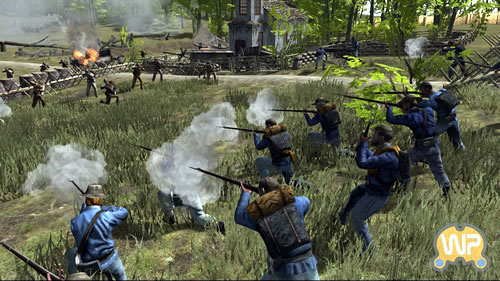"Screenshot from the game ""History Channel: Civil War"""