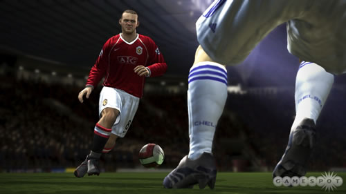 "Screen capture from ""FIFA Soccer 08″."
