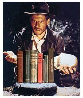 Indiana Jones and books