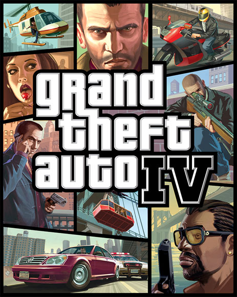 "Package art for ""Grand Theft Auto IV"""