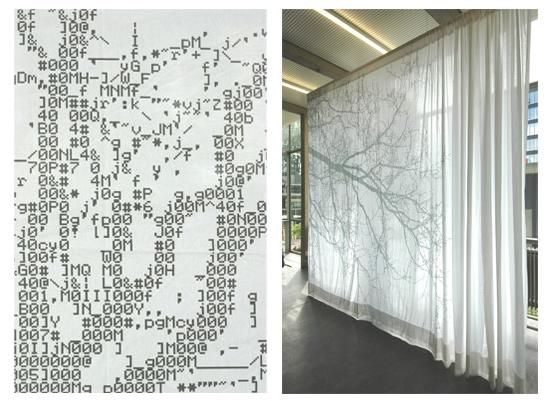 ASCII curtains