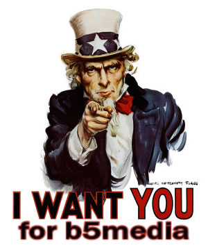 Uncle Sam: I want you for b5media