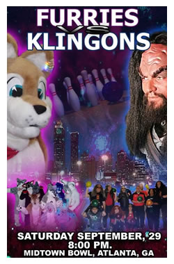 "Small version of the ""Furries vs. Klingons"" poster"